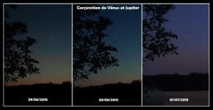 Conjonction Vénus-Jupiter