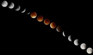 Éclipse de lune Aspach 2015