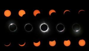 Éclipse totale de soleil en Turquie