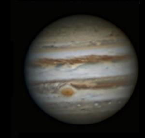 Jupiter et sa tache rouge