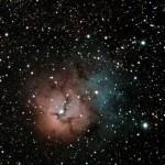 M20 Nébuleuse trifide dans le Sagittaire