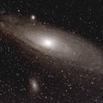 M31 et M32 dans Andromède