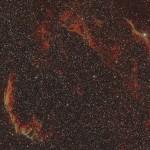 NGC6960 et NGC6995 dentelles du cygne dans le Cygne