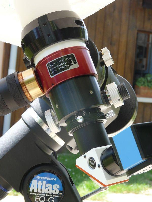 Lunt 60mm pour observation du soleil